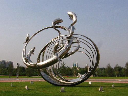 北京不锈钢雕塑加工_天津不锈钢雕塑_北京不锈钢雕塑废料