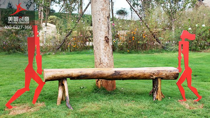 座椅雕塑-园林雕塑其动与静的反差,成时尚风景。表现出一男一女 一左一右滑稽的支撑着座椅,作品的展览与摆放,证明了好的设计和艺术可以恰如其分地融入日常生活,给公众以休息与玩耍,彰显了艺术与实用的和谐结合。  湖南美景创意雕塑雕塑艺术有限公司拥有创新的设计力量、优良的雕刻制作实力以及负责的安装售后,为各大景区打造独特的雕塑制作,提升景区的整体形象。 如果您也关注标雕塑艺术,请联系我们网页右侧的在线客服,或致电:400-6727-366,美景创意全心全意为您提供全方位的雕塑设计、制作、安装服务。