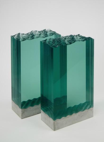 玻璃雕塑赏析. 新西兰艺术家ben young