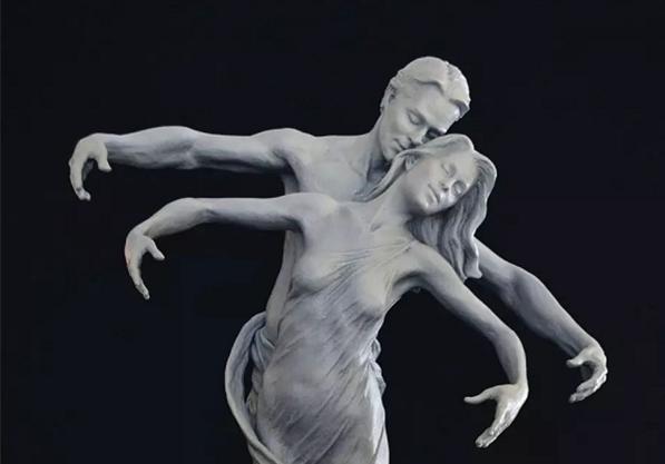 永不放弃的精神——雕塑艺术家她天生:卡尔詹森作品欣赏